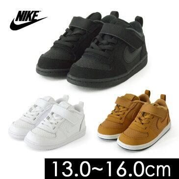 【メール便不可】ナイキ コートバーロウ 870029_1-K-MG キッズ 靴 クツ くつ スニーカー 運動靴 通学 白 黒 ブラウン シンプル 男の子 女の子 17 18 19 20 21 NIKE 8001589