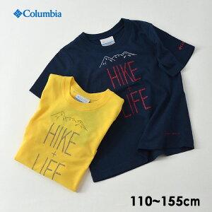 【30%OFF】【メール便可】コロンビア PY2033-LM HIKE+LIFE Tシャツ キッズ ジュニア トップス 半袖 カットソー シンプル プリント コラボT 防虫加工 紫外線カット アウトドア 子供服 Columbia 4020642 19fn-t【SALEsaleセールバーゲン】【SS】