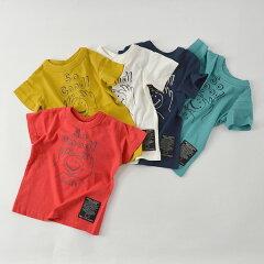 【メール便可】ニードルワークススタンダード319002-15MSmileT-shirtキッズベビートップス半袖Tシャツプリントシンプルロゴ子供服NeedleWorksStandard4020913