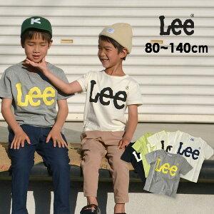 【メール便可】リー 9184354_9188511-14M-A6 BasicロゴTシャツ/ベーシックロゴTシャツ キッズ ベビー トップス 半袖 ブランドロゴ シンプル カジュアル ユニセックス おそろい 子供服 Lee 4020638 rexw