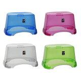 【送料無料】COLORFUL BATH TOOL バススツール 座面高20cm (風呂椅子・透明) Untie Crystal アンティクリスタル【RCP】【unc-】【G C P B】