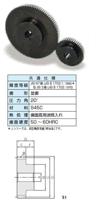 KHK 歯研平歯車SSGシリーズ モジュール2.5【SSG2.5-55】販売単位:1個 JAN[-](KHK 歯車)小原工業(株)【05P03Dec16】