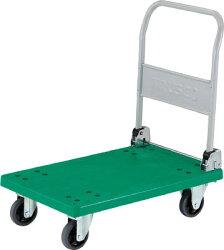 TRUSCOグランカート折りたたみ718X468【TP701】販売単位:1台JAN[4989999412512]樹脂製運搬車