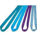 田村 ラウンドスリング SSタイプ HN−W016×2.0m 青色【HN...