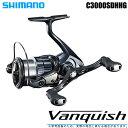 (5)【送料無料】シマノ 19 ヴァンキッシュ C3000SDHHG (2019年モデル) /スピニングリール/SHIMANO/NEW Vanquish/バンキッシュ/汎用/・・・