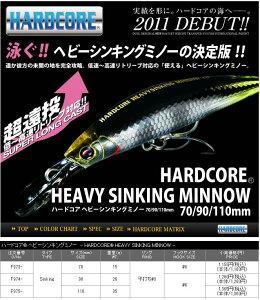 【デュエル】ハードコア ヘビーシンキングミノー70