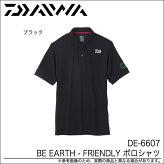 DE-6607(BEEARTH-FRIENDLYポロシャツ)