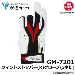 がまかつ/ウィンドストッパー(R)グローブ(3本切)/GM-7201