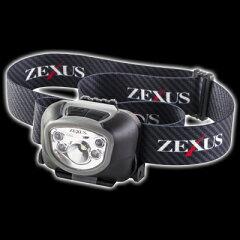 ヘッドライトサイクリングに!アウトドアに!フィッシングに!最適!富士灯器 ZEXUS(ゼクサス)ZX...