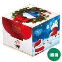 サンタの記念 ミニ 3号(台紙付)【デコレーションケーキ用ボックス】(クリスマス限定商品)