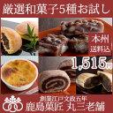 【常温配送】創業1822年老舗の厳選和菓子5種セット【送料込...