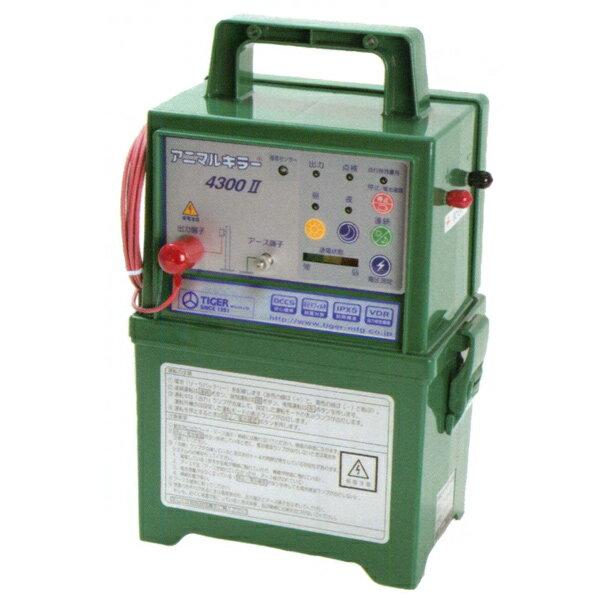 【TIGER/タイガー】アニマルキラー TAK-4300DC2(12V電池タイプ)[電気柵/電柵/アニマルキラー]