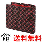 印伝の財布(男性用・富士山柄たかね)