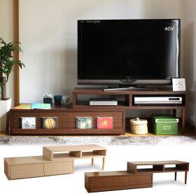 スライド伸縮テレビ台/AVボード