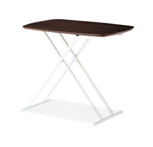 昇降式テーブル昇降テーブルリフトテーブルリフティングテーブル高さ調節可能高さ調整折畳みテーブル木製調ソファーダイニングナチュラルブラウン【送料無料】