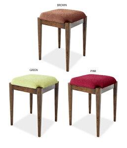 スツールレトロモダンアンティーク風木製椅子玄関北欧ナチュラルシンプルグリーンブラウンレッド送料無料