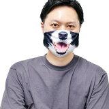 アニマルフェイスマスク ドッグ FauxReal リアルな動物マスク 犬 イヌ ++