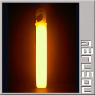 Party goods, chemical light-emitting body concert, cheering and penlight ★ cyalume 6 high intensity ultra Orange, oval
