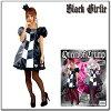 ブラックガーリー・トランプの女王:丸惣MJP759:コスチューム・女性用衣装・コスプレ・仮装★