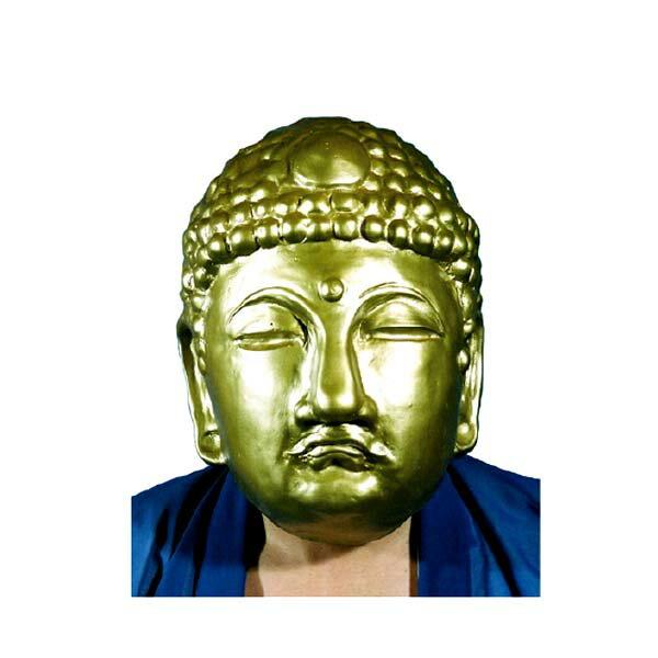 黄金仏マスクM3【オガワPC104】パーティーグッズ・ラバーマスク・宴会・変装・仮装・大仏★