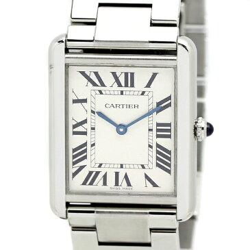 カルティエ Cartier タンクソロ LM メンズ腕時計 W5200014 クォーツ SS