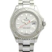 ロレックス ROLEX ヨットマスター ロレジウム 16622 メンズ腕時計 SS/プラチナ 自動巻 F番 保証書付き