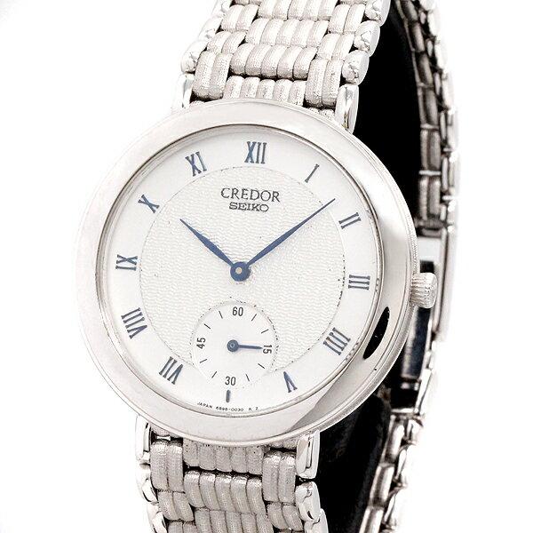腕時計, メンズ腕時計  SEIKO K18WG 6898-0020 750 CREDOR