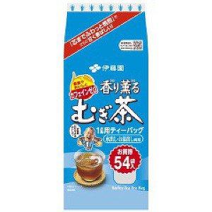 香り薫るむぎ茶ティーバック麦茶54袋8g×54袋(10個)【伊藤園】※送料無料(一部地域除く)