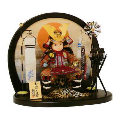 五月人形 平安豊久 子供大将飾り わんぱく陣大将 五月人形 ≪GOH-503182≫五月人形 …