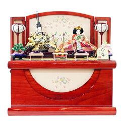 雛人形 収納飾り 美光 購入&レビューの豪華W特典付き!2014年ひな祭り 美光作 雛人形雛 コンパ...