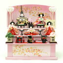 雛人形 福寿 コンパクト 収納飾り 福寿作 衣装儀 収納三段五人飾り 雛人形 HNSF-2IM-14SN (A-57)ひな人形 雛 コンパクト収納飾り ひな人形 小さい