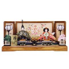 雛人形 2015年 ポイント10倍 レビュー記入で名入れ木札が無料に!ひな人形 親王飾り 雛人形雛人...
