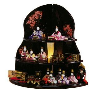 ★スマホエントリーでポイント最大19倍雛人形 平安豊久 木目込飾り 舞葵 十人 雛人形 HNH…