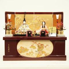 雛人形 久月 ほのか 雛人形 HNQ-31826 (K-100)ひな人形 コンパクト【ひな人形…
