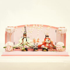 雛人形 コンパクト 久月 雛人形 親王飾り 10P09Jan16