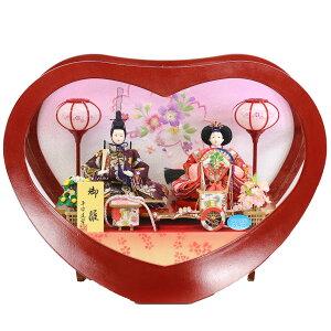 Muñeca Hina Heian way decoración de caja compacta verde H q _ Decoración de caja de acrílico tipo corazón HNMT-55100 Muñeca Hina Muñeca Hina Muñeca Hina Linda decoración interior de moda linda caja de la caja Hina