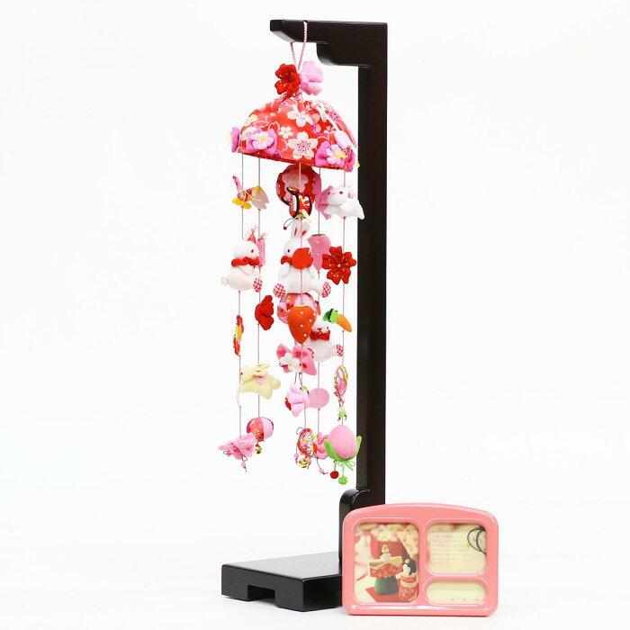 桜うさぎ (小) スタンド付き オルゴール付き TRS-BK-SB-R002S送料無料おしゃれ で かわいい さげもん つるし雛 吊るし飾り で 桃の節句 雛祭り ひな祭り 雛人形 のお祝いに