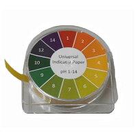 リール式pH試験紙【あす楽】夏休み冬休みの自由研究に簡単にペーハーが測れます