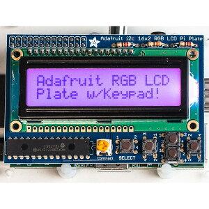 Adafruit 製 Raspberry Pi 用 LCD キット