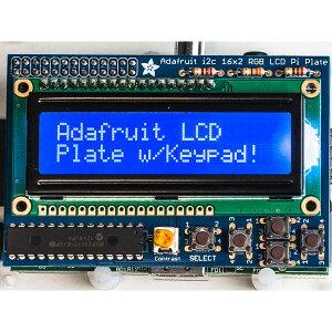 Adafruit Raspberry Pi 用LCDキット
