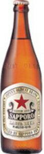 しっかりとした厚みのある味わい、伝統の赤星 サッポロラガービール 中瓶 500ml×20本(P箱)