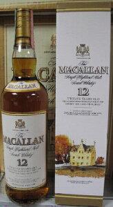 およそ10年前のオフィシャルマッカランマッカラン 12年 オフィシャル 旧ボトル 40度 700ml