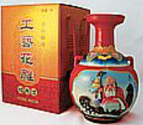 彩壜浮彫酒 [ラッパ口] 15度 1L ×6本:ECHIGOYA