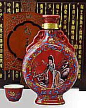 越王台陳年25年花彫酒 [壺] 15度 600ml×4本:ECHIGOYA