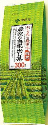 伊藤園 農家の自家出し茶 300g×10本