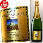 カヴァヴィーニャ・サン・ホセブリュット白(スペイン-スパークリング・ワイン)750ml