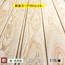訳あり!杉羽目板 無節 純白10×115×1985 13枚入り 1束アウトレット壁板 建材 木材 板 日曜大工DIYに