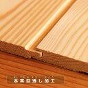 杉 羽目板(腰壁)無節・上小10×100×960mmハーフサイズ 15枚入り 1束 腰壁 板 日曜大工DIYに 3