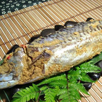 【福井では知らない人はいません。】特大サイズ!鯖のへしこ3本セット【あす楽対応_関東】【楽ギフ_のし】【gourmet0131】