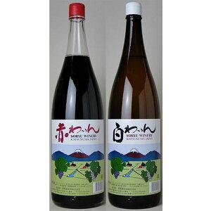【送料無料】蒼龍葡萄酒 一升びんワイン赤白 よりどり6本セット
